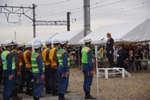 東武鉄道「異常時総合訓練」実施