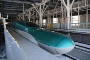 準備が進む、北海道新幹線