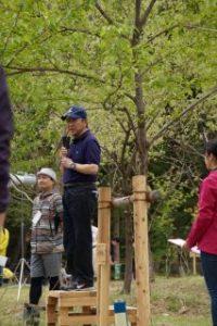 西武グループ「健康・エコハイキングと植樹祭」飯能・西武の森