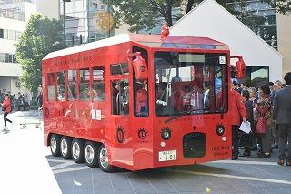 まちなか交流バス「IKEBUS(イケバス)」が池袋で運行開始