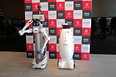 京急グループ本社ビルで警備ロボットの本格実装に向けた実証実験