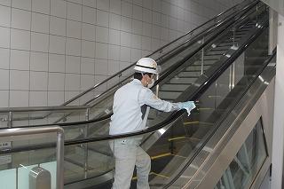 東京メトロ「車両内」に続き、「駅構内」への抗ウイルス・抗菌処置を実施中
