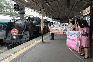 東武日光駅発着SL大樹「ふたら」営業運転を開始