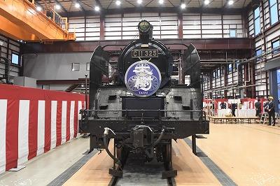 東武鉄道に真岡鐵道で運行していたC11形325号機がお目見え
